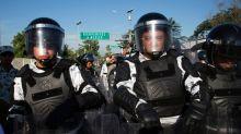 Mexican troops block US-bound caravan travelers