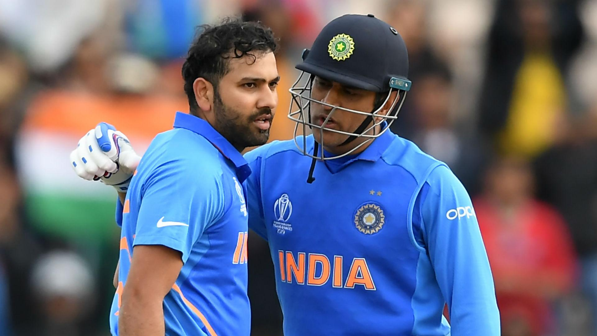 Rohit uneasy with Dhoni comparisons: He's one of a kind