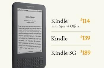 Amazon releases ad-supported Kindle