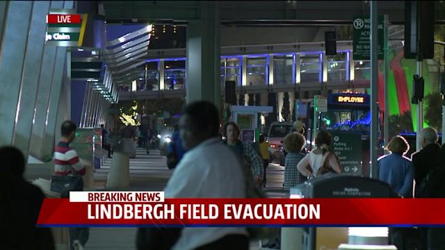 Electrical Fire Causes Evacuations At Lindbergh Field
