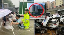 China floods: Hotel fined $100,000 after 'wicked' act