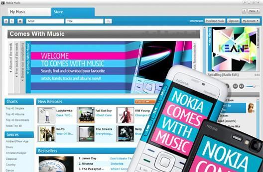 Nokia aiming for DRM-free implementation of Comes With Music