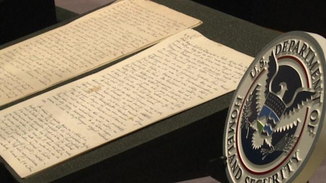 NAZI DIARY BACK IN THE U.S.