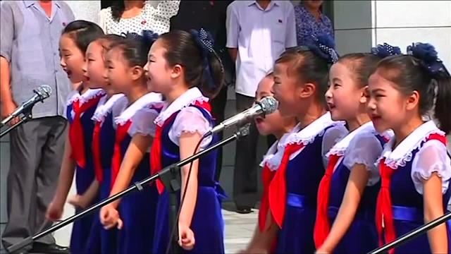 North Koreans cast ballots for people's assemblies