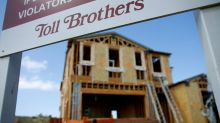 Toll Brothers orders slump for first time in more than four years