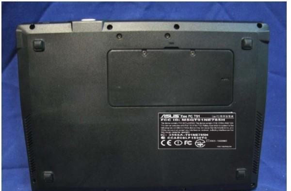 ASUS Eee PC T91 arrives at the FCC