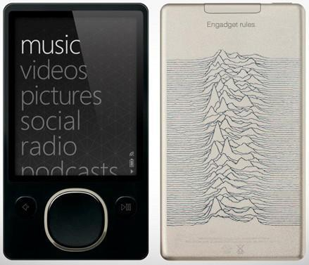 Limited Edition Joy Division Zune makes us dance, dance, dance to the radio
