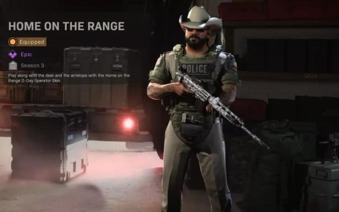 'Call of Duty' Border War skin