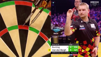 Darts world in shock over incredible feat of perfection