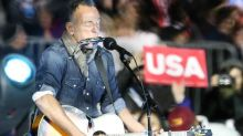 Springsteen Sings for Hillary, Hits Trump Hard
