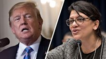 Trump piles on Rep. Tlaib over Holocaust comments