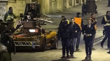 Filming for Spectre Bond car chase underway in Rome
