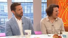 Jason Priestley is completely baffled by Sunday Brunch