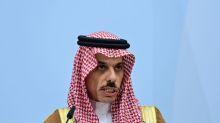 Saudi Arabia supports comprehensive Israeli-Palestinian peace solution