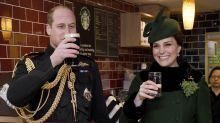 St. Patrick's Day: So süß zeigen sich Prinz William und Herzogin Kate sonst nie