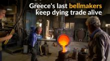 Greece's last bellmakers keep dying trade alive