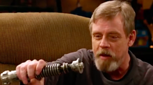 Lightsaber Surprise: Mark Hamill Reunites With Real 'Return of the Jedi' Prop (Video)