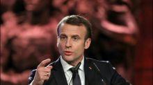 """Präsident Macron warnt vor Rechtfertigung von """"Hass"""" mit der Shoah"""