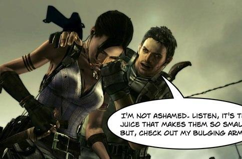 Pinpoint exactly when Resident Evil's Chris Redfield started taking steroids