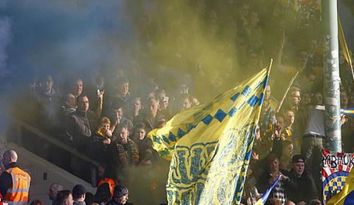 2. Liga: 183 Eintracht-Anhänger in Gewahrsam