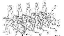 Airbus reveals bicycle-style seats to fit more passengers on planes