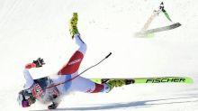 Swiss suffers scary crash in Kitzbuehel downhill; Ryan Cochran-Siegle OK after crash