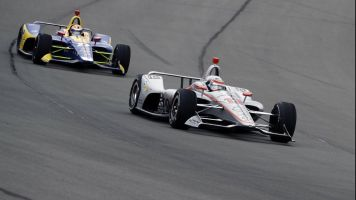 Indy crash mars Power's second at Pocono
