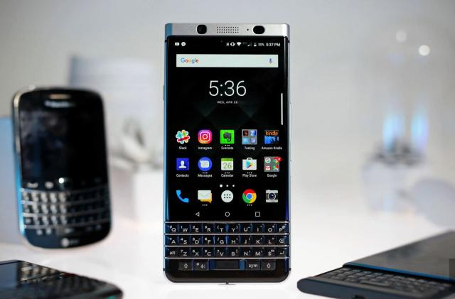 The first water-resistant BlackBerry will ditch the keyboard