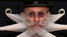 En fotos, los looks más extravagantes que dejó el mundial de barbas y bigotes