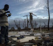 Cleanup resumes in Bahamas as Humberto swirls away