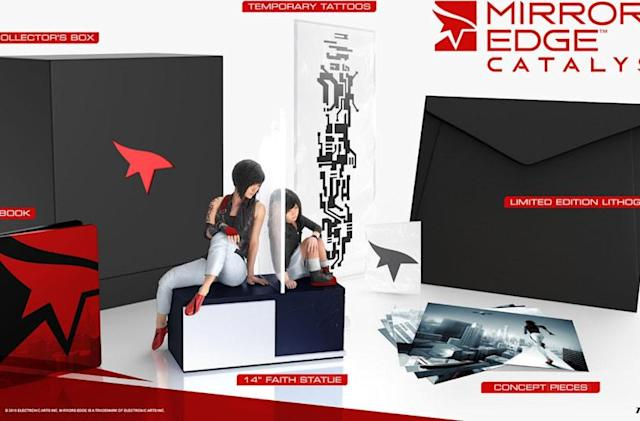 The $200 'Mirror's Edge Catalyst' bundle might be worth it