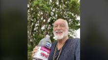 Mick Fleetwood recreates 'Dreams' TikTok — complete with cranberry juice