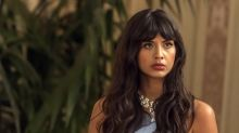 Actress Jameela Jamil slams tabloid for calling swimsuit-clad celebrities 'beached whale' and 'too big'