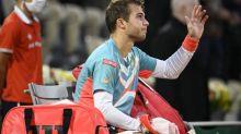 Roland-Garros (H) - Roland-Garros: l'exploit d'Hugo Gaston face à Stan Wawrinka en images
