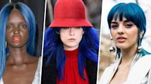 Why Smurf Blue Is the Technicolor Dye Job of the Moment