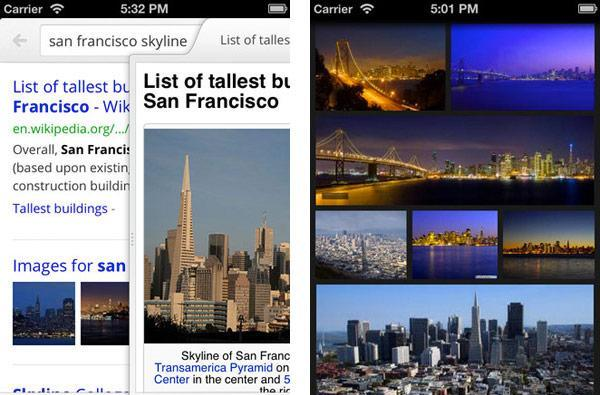 Google Search for iPhone gets the 2.0 remake, full-screen search and swipes aplenty