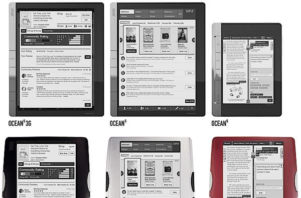 Copia promises to blend e-books and social networking into set of new readers