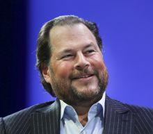 Salesforce CEO Marc Benioff calls Slack a '1+1=3' deal, part of a $50 billion dream