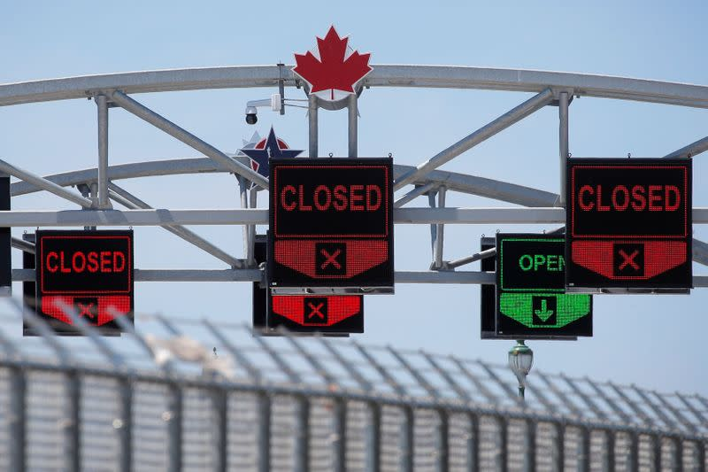 Canada/U.S. border to remain closed until September 21