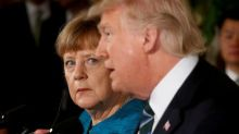 Merkel visits Trump without illusions, but with hope