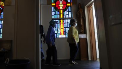 Church leaders weigh risks of reopening