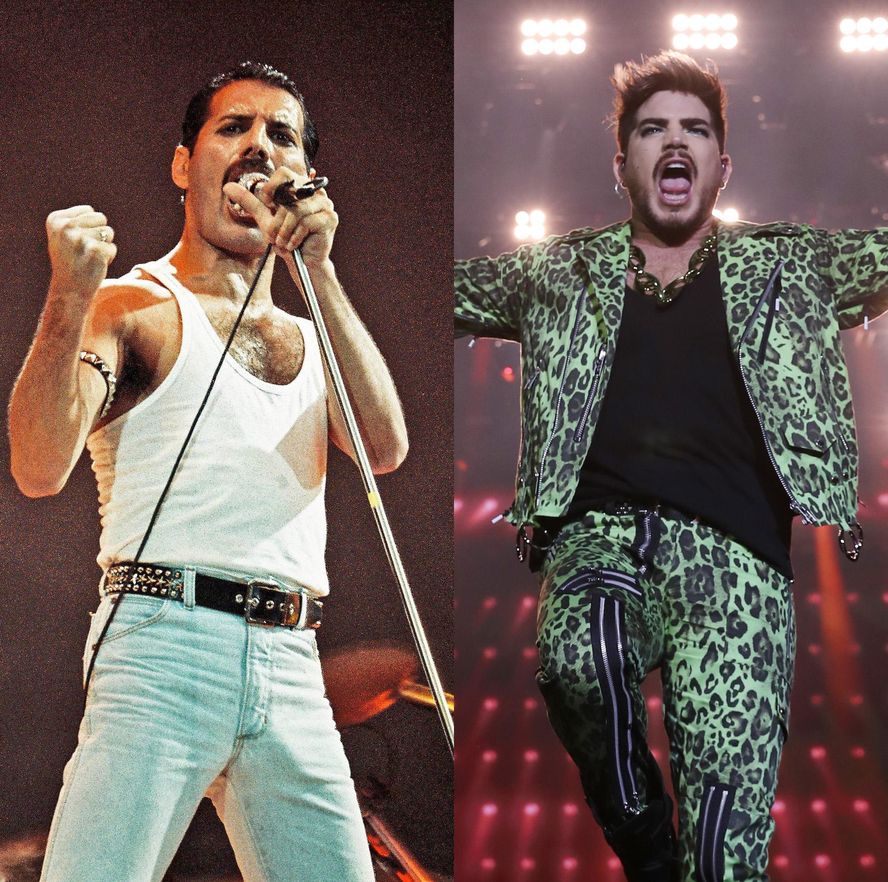 Watch Adam Lambert and Queen reenact iconic Live Aid concert for first time since 1985