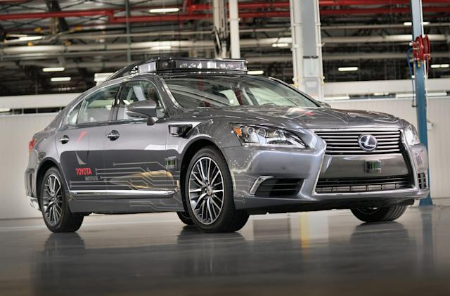 Toyota's new self-driving test car can better recognize small objects