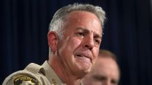 Las Vegas sheriff, in emotional press conference, admits he's still searching for answers