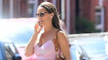Pippa Middleton wears $158 pink summer dress by J.Crew
