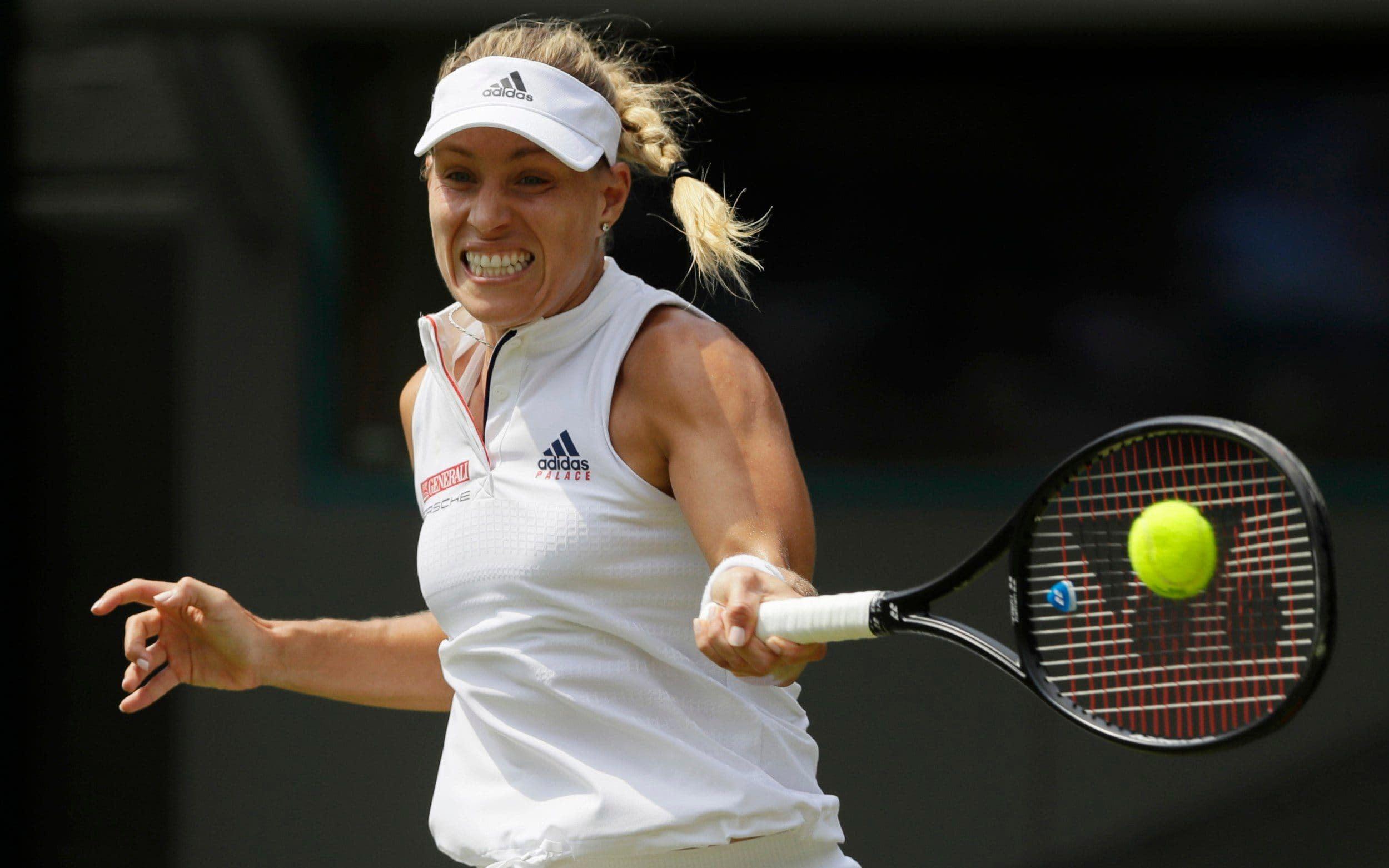 Angelique Kerber vs Daria Kasatkina, Wimbledon 2018: live