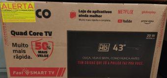 Ladrão se arrepende e compra TV para vítima