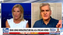GOP senator spars with Laura Ingraham over infrastructure bill: 'You are agreeing with Pelosi'