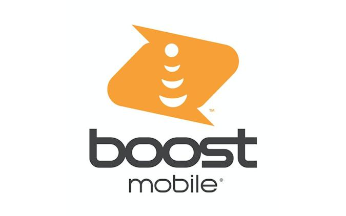 Dish unveils a new Boost Mobile logo.