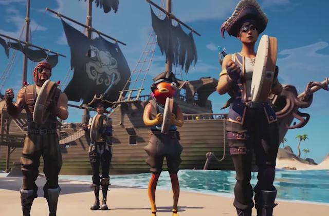 Of course 'Fortnite' has a sea shanty emote